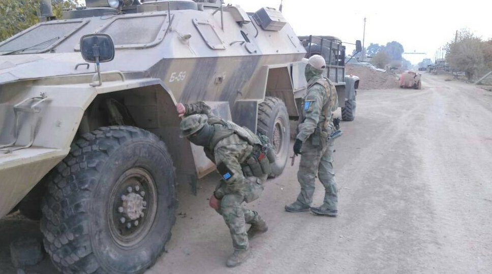In Photos: Russia-linked Private Military Contractors Spotted Near Syria's Khanasir