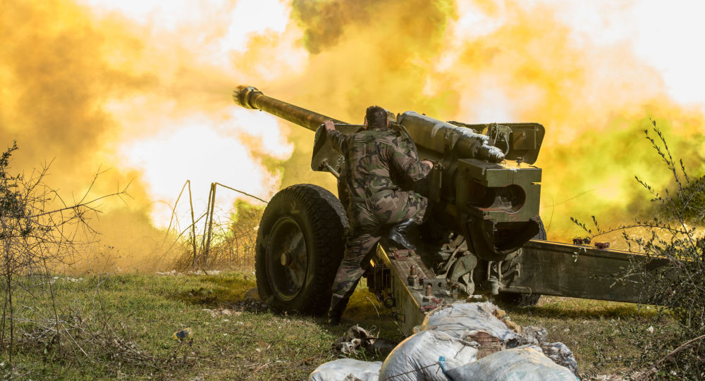 Syrian Army Shells Positions Of US-backed Forces On Eastern Bank Of Euphrates River