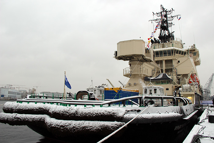 Russian Navy's Icebreaker Ilya Muromets Is Declared Operational (Photos, Video)