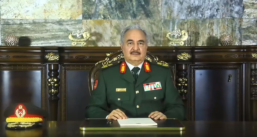 Libyan National Army Commander-in-Chief: Political Agreement In Libya Is Over
