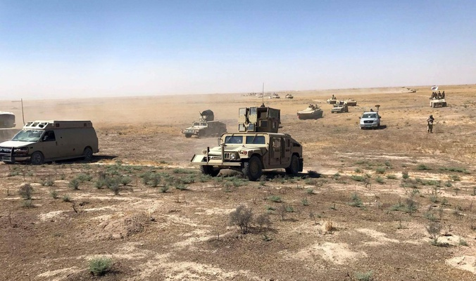 Iraqi Popular Mobilization Units Repel Massive Attack Of ISIS On Iraqi border