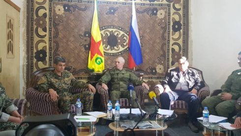 YPG Declares Full Control Over Eastern Deir Ezzor Countryside During Meeting With Russian Officers