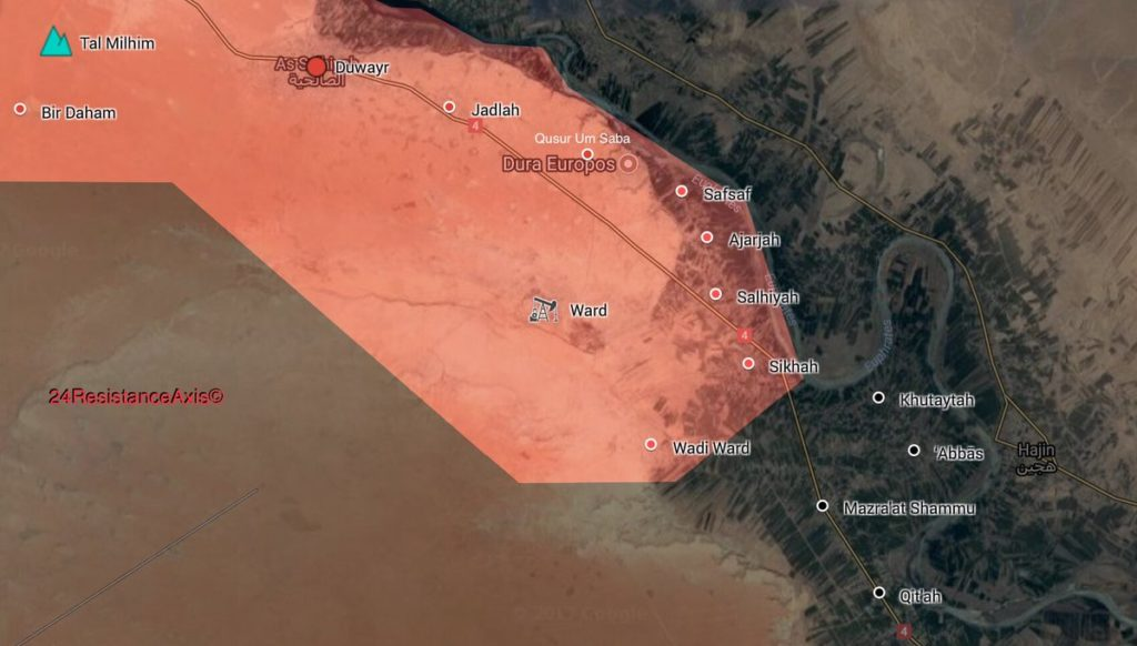 Syrian Army Liberates 8 Villages, Russian Strategic Bombers Purge ISIS In Euphrates Valley (Map, Photos)