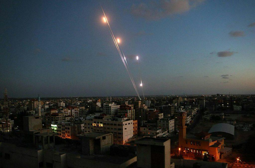 Al-Nasser Salah al-Deen Brigades Fire Rockets From Gaza On Targets In Southern Israel