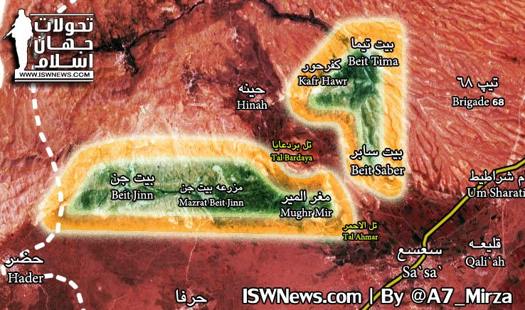 Syrian Army Captures Strategic Hills, Isolates Hay'at Tahrir al-Sham In Western Ghouta (Map, Video)
