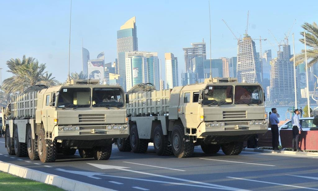 Qatar Showcases Its New Chinese-Made Ballistic Missiles (Photos)