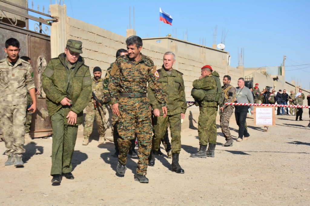 Russia And YPG Establish Joint Operation Room In Southeastern Deir Ezzor