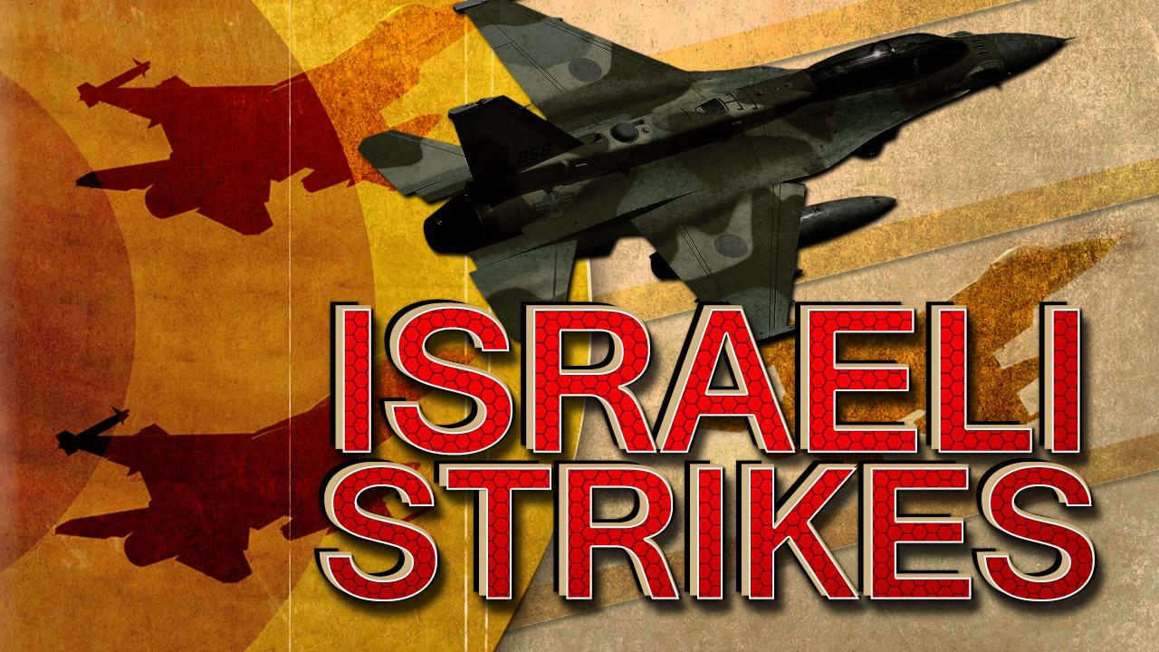 Israeli Warplanes Punish Hamas For Arson Balloons Launching (Video)