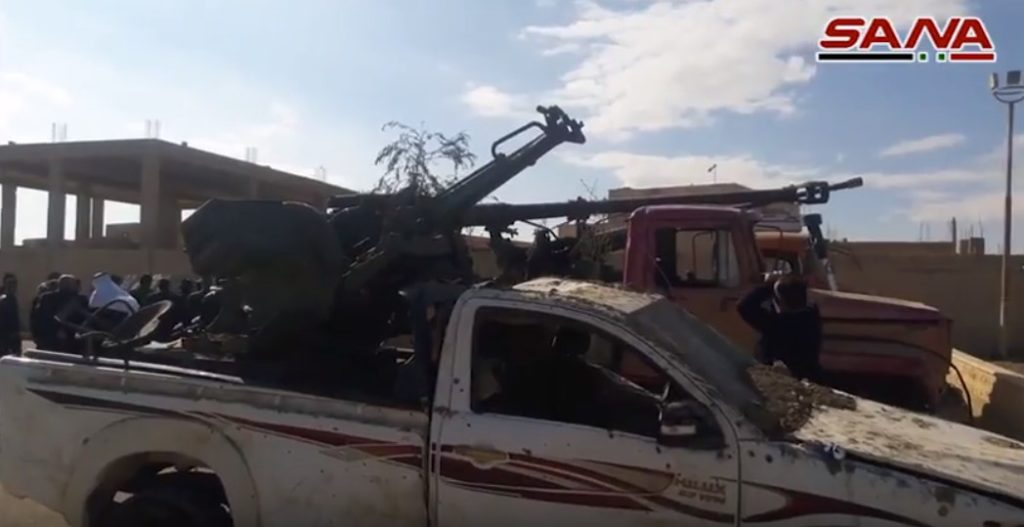 Video: Syrian Troops Show More Spoils Of War Captured From ISIS In Deir Ezzor
