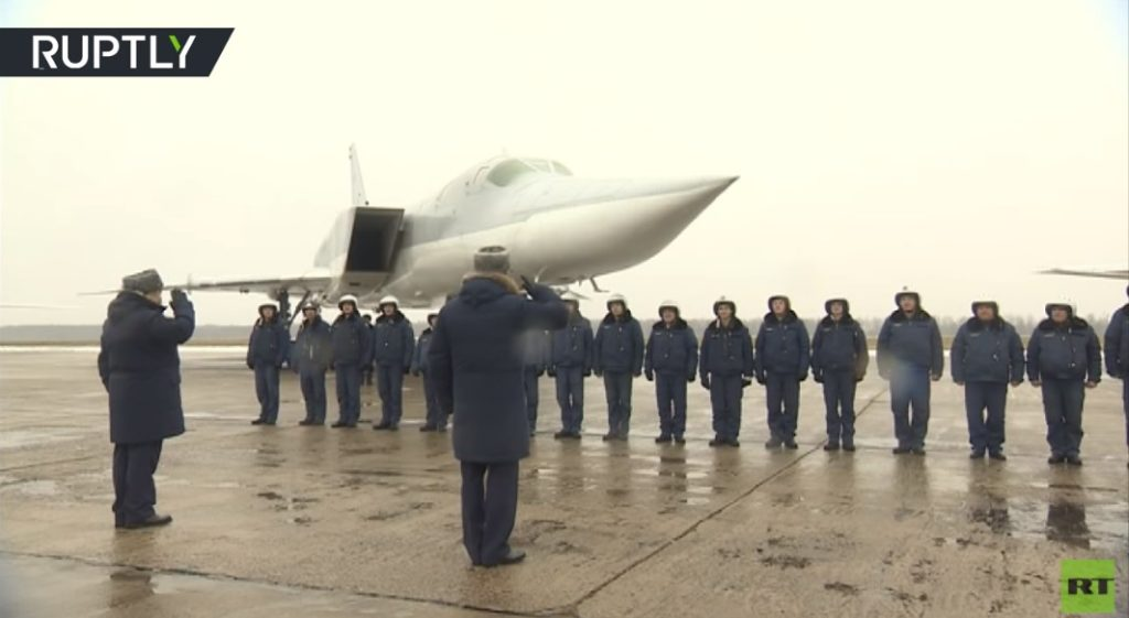 Russian Tu-22M3 Returns To Home Bases After Participating In Syria Mission