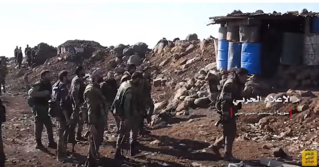 In Video: Syrian Army Controls Strategic Hill Of Zayyat In Beit Jinn Pocket