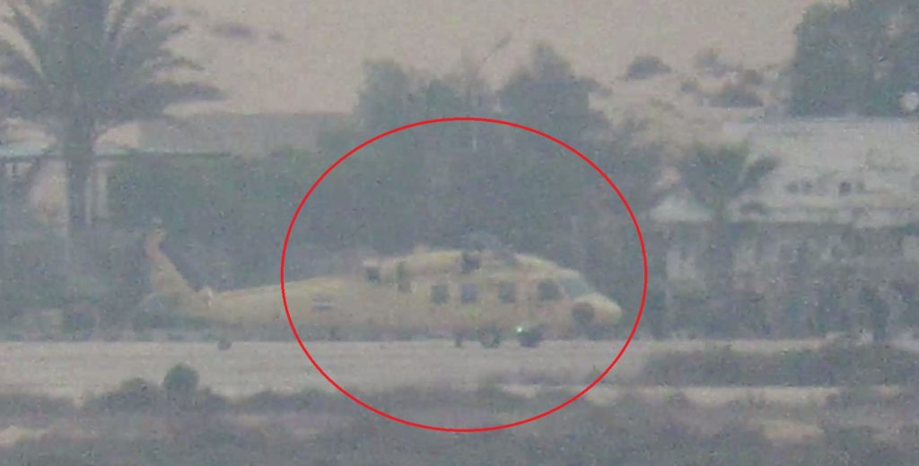 ISIS ATGM Strike Destroys Helicopter At Airbase In Egypt's North Sinai
