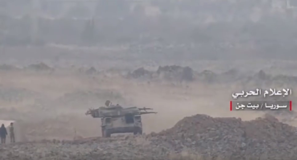 Battle Footage: Army Troops Advance In Beit Jin Pocket In Southern Syria