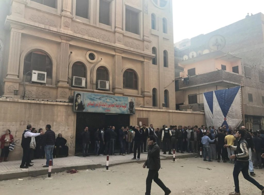 10 People Killed In Militant Attack On Christian Church In Egypt