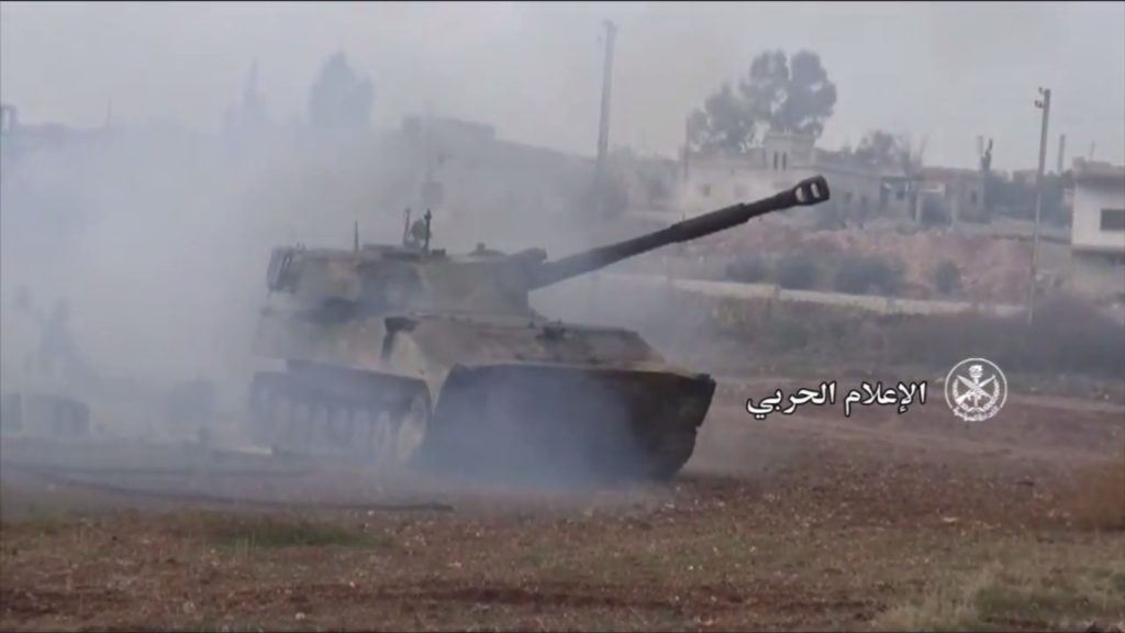 Video: Syrian Army Troops Advancing In Abu Dali Area