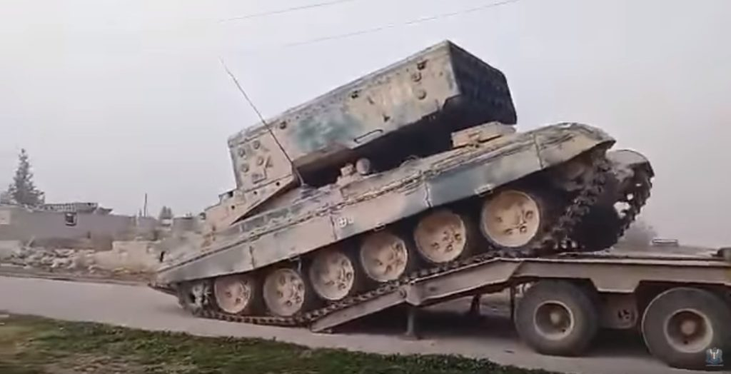 Syrian Troops Deploy Heavy Flamethrower Systems To Develop Momentum In Southern Idlib
