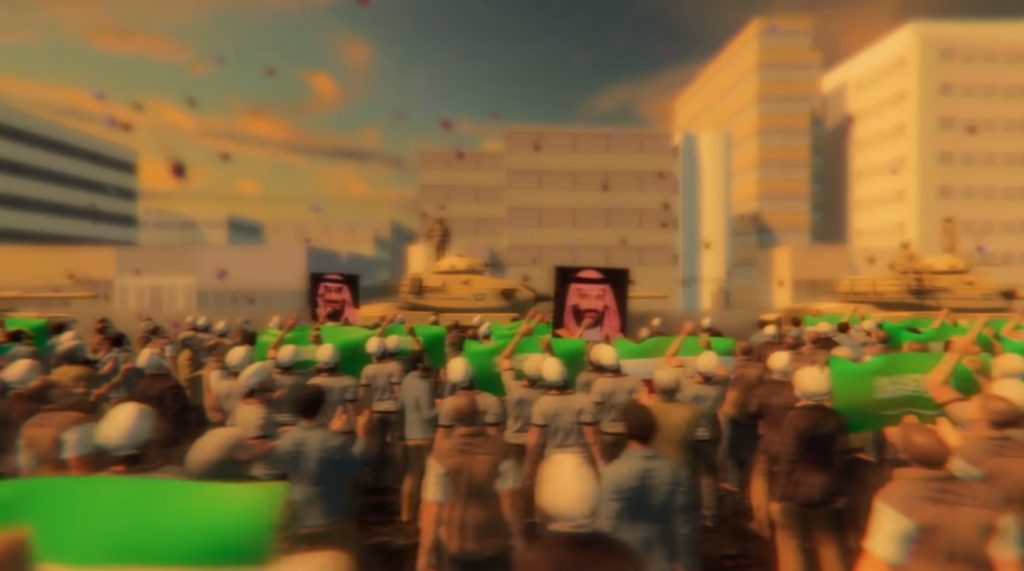 Saudi Propaganda Goes Wild, Releases Film Showing Invasion Of Iran