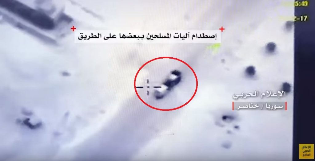 In Video: Militants In Panic After Syrian Army Shells Their Positions In Southern Aleppo