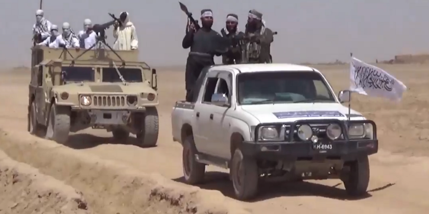 Taliban Captures Key Army Checkpoint In Northwestern Afghanistan