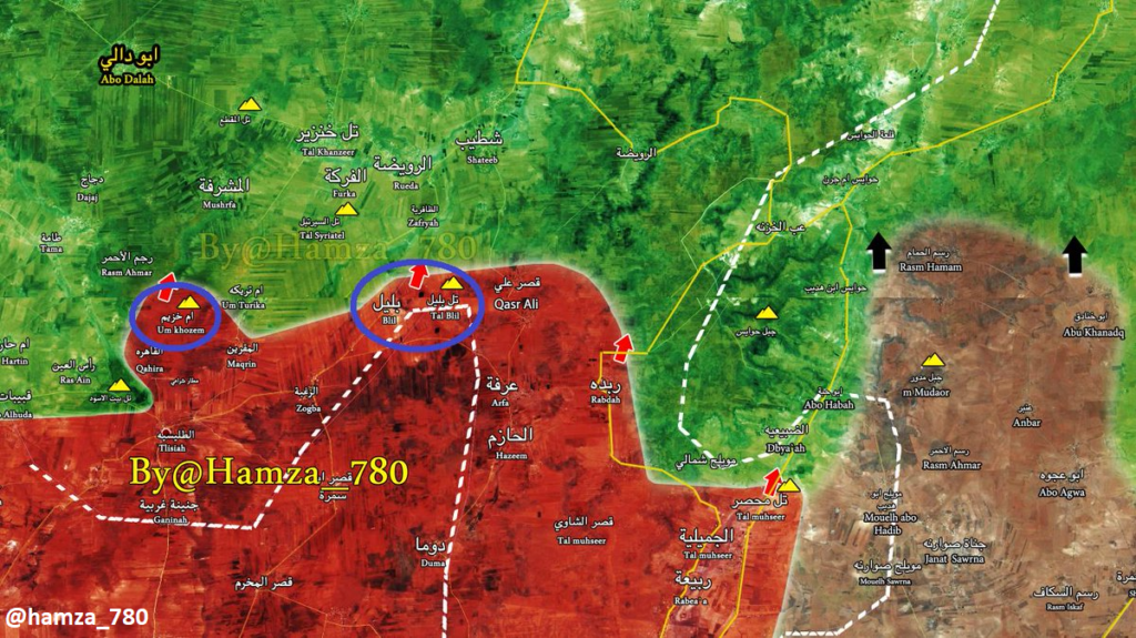 Syrian Army Captures New Points From Militants, Reenters Idlib Governorate