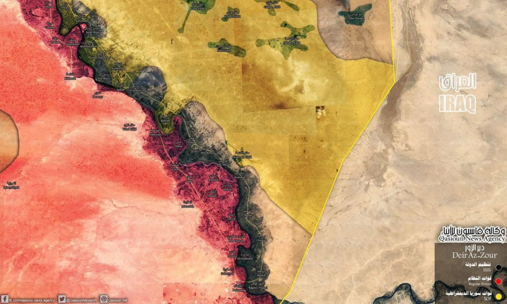 Syrian Army Fully Repels ISIS Attack And Recaptures All Positions In Euphrates Valley