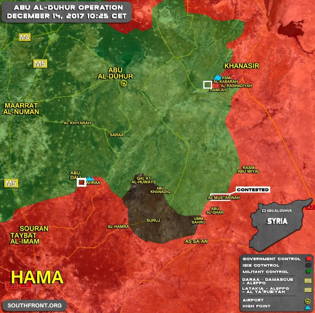Syrian Army Makes More Gains In Idlib And Aleppo (Map, Photos)