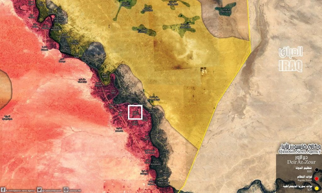 Government Forces Launch Counter-Attack Against ISIS On Western Bank Of Euphrates, Recapture al-Ramadi Town