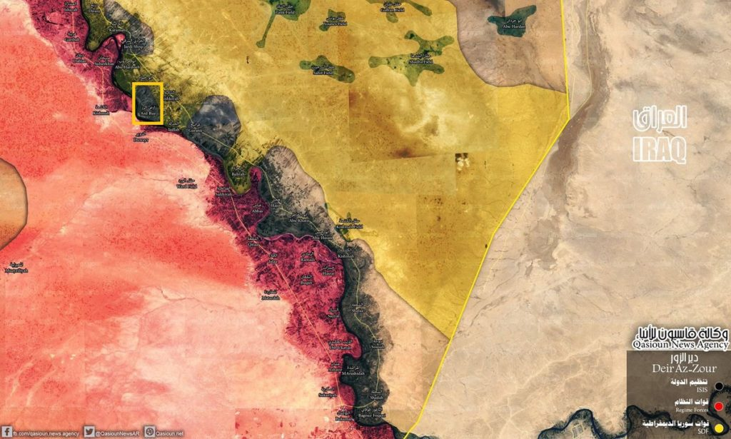 Syrian Democratic Forces Capture New Village From ISIS In Euphrates Valley (Map, Videos)