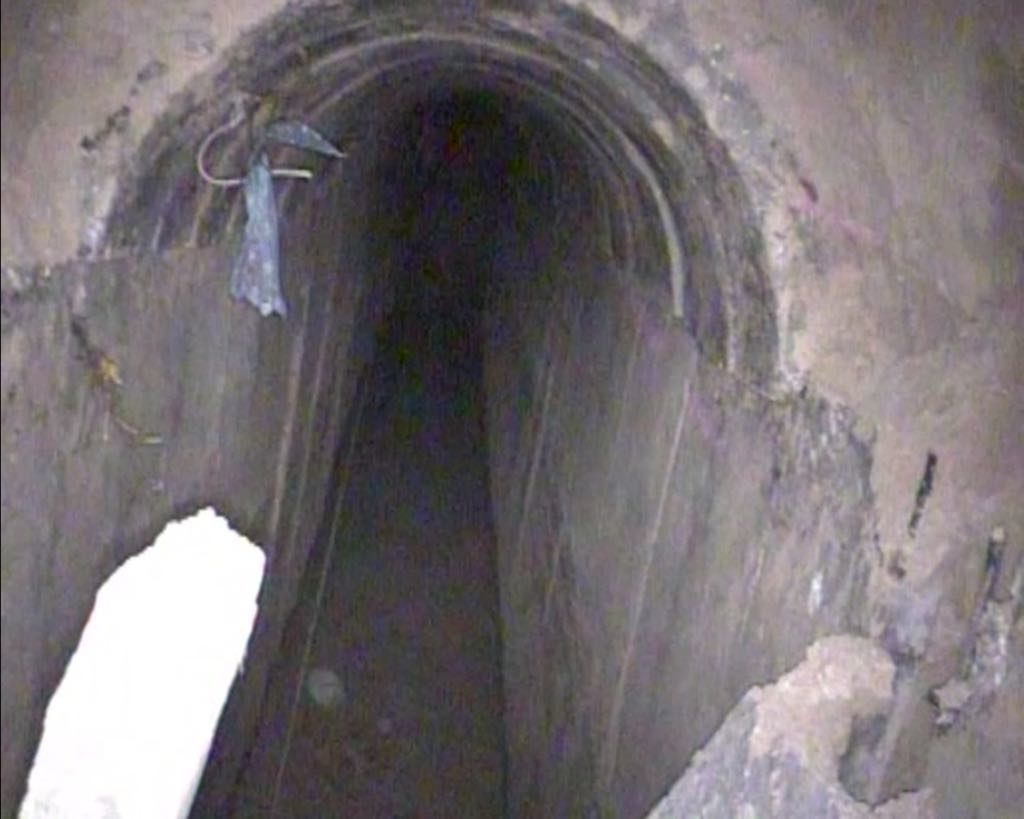 Israeli Army Discovers And Destroys New Undeground Tunnel Of Hamas Near Gaza Strip