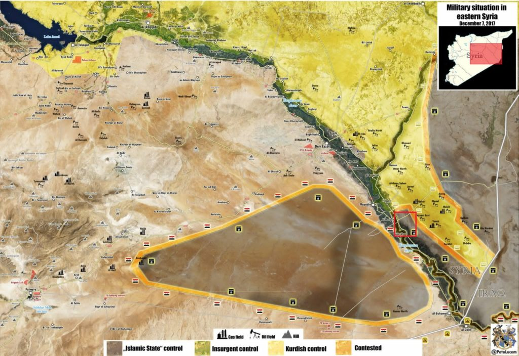SDF Continues Operation On Eastern Bank Of Euphrates, Suffers Casualties From ISIS VBIED (Map)