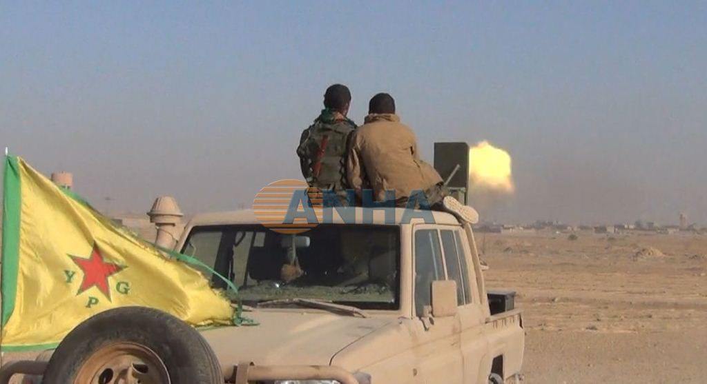 US-backed Forces Launch Military Operation To Clear Southern Part Euphrates Valley From ISIS (Photos, Video)