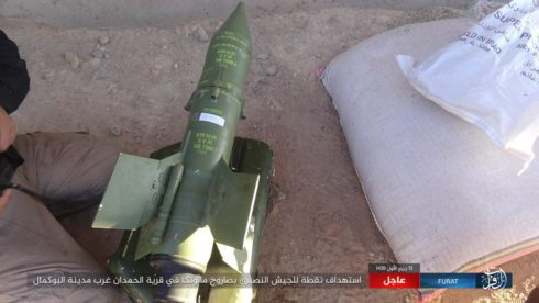ISIS Attacks Syrian Army West Of al-Bukamal In Deir Ezzor Province (Photos)