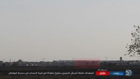 ISIS Attacks Syrian Army West Of al-Bukamal In Deir Ezzor Province (Photos)