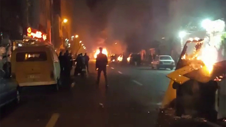 Iranian Deputy Governor Accuses 'Foreign Agents' Of Deaths Of Protesters