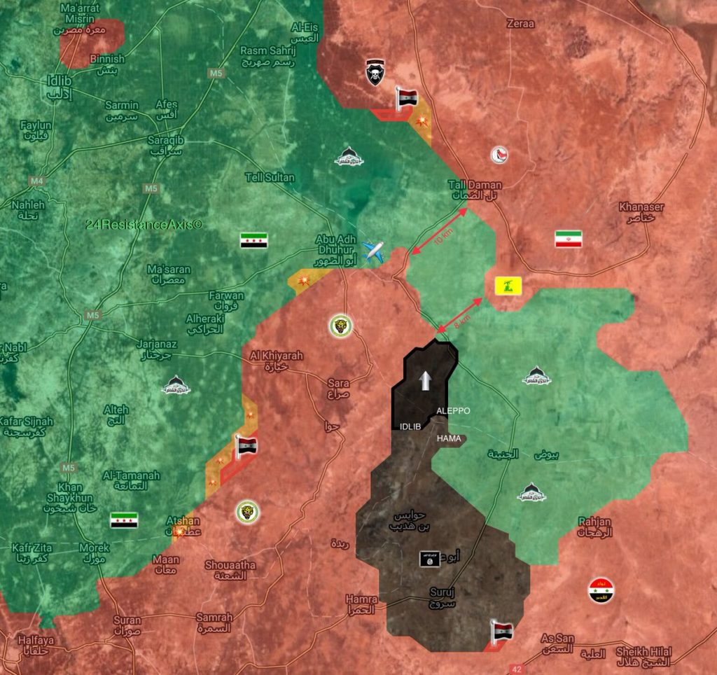ISIS Uses Clashes Between Syrian Army And HTS To Expand Further Into Idlib (Map)