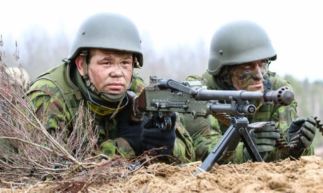 Big Guns, Better Chow, and More US-NATO Aggression