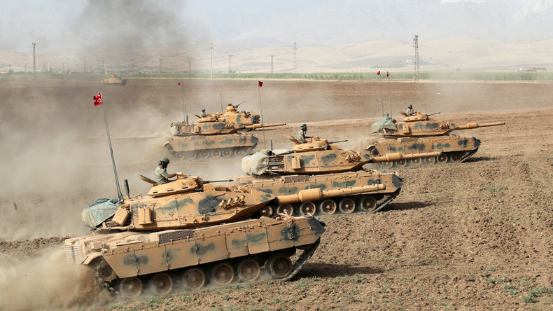 Turkish Military Opens Command Center For Future Operation In Northeastern Syria