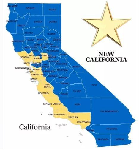 """New California"" Conservative Movement Declares Independence As First Step Towards 51st State"