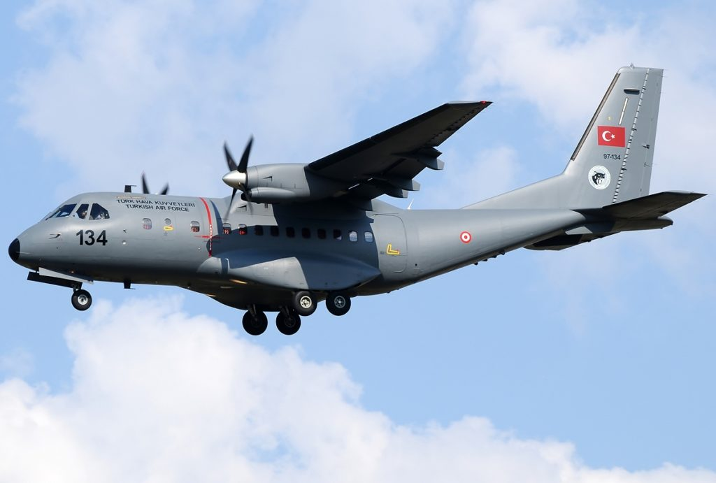 Military Aircraft Crashes In Southern Turkey. 3 Crew Members Die