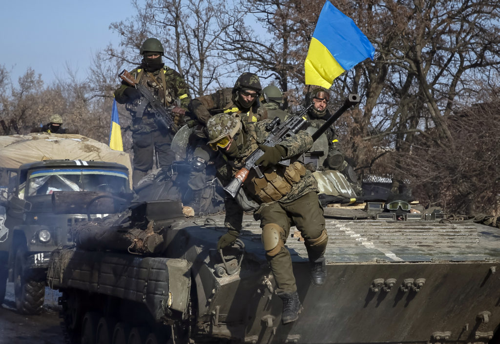 "Ukraine Parliament Adopts Law To Restore ""Sovereignty"" Over the Donetsk And Lugansk Regions"