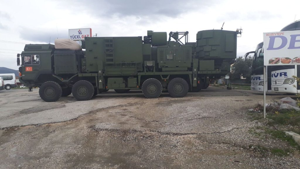 Turkey Deploys Koral Electronic Warfare System Near Syria's Afrin