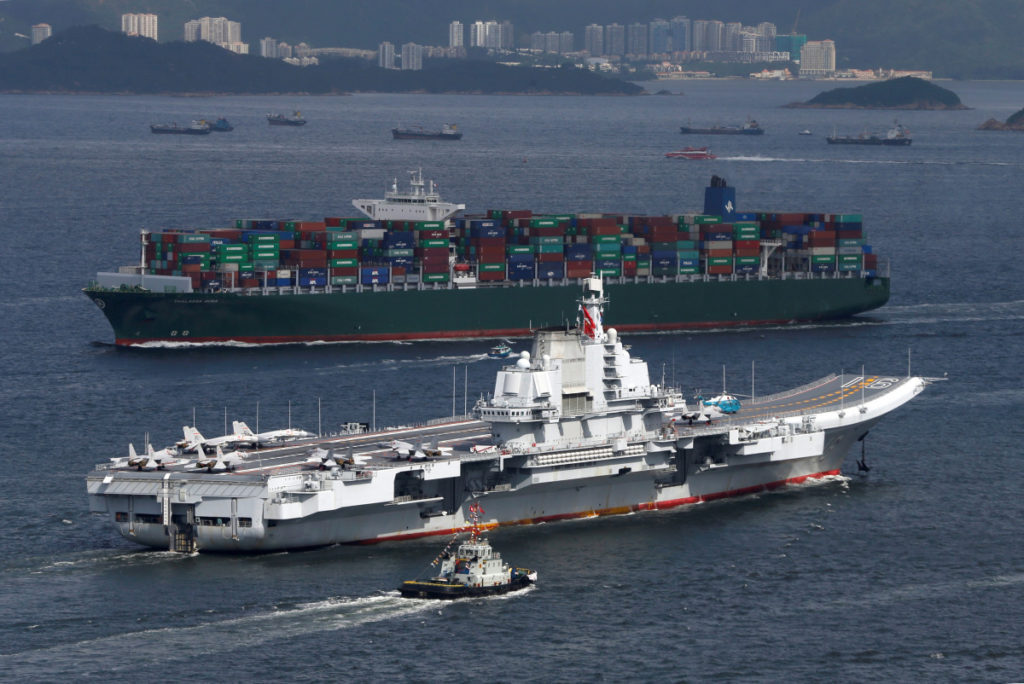 China Is Building Its Third Aircraft Carrier - Media