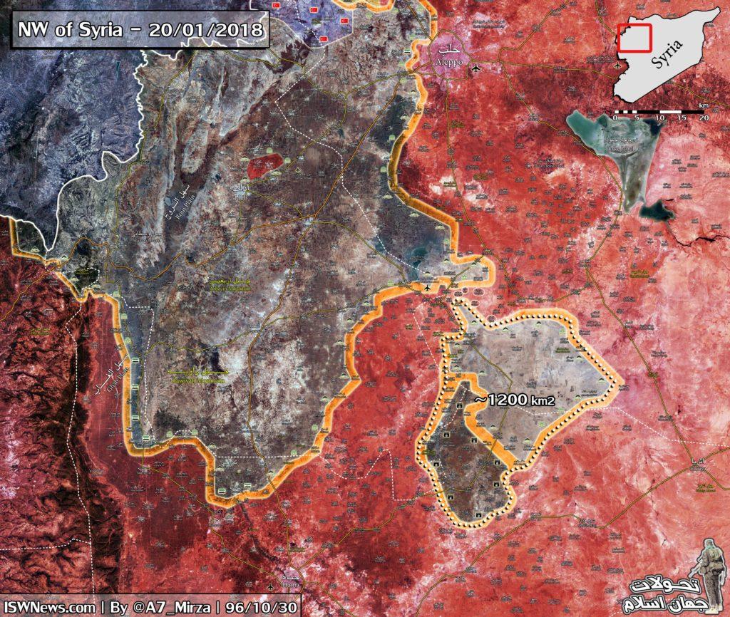 Tiger Forces Entered Abu al-Duhur Airbase, Closed Eastern Idlib Pocket (Map)