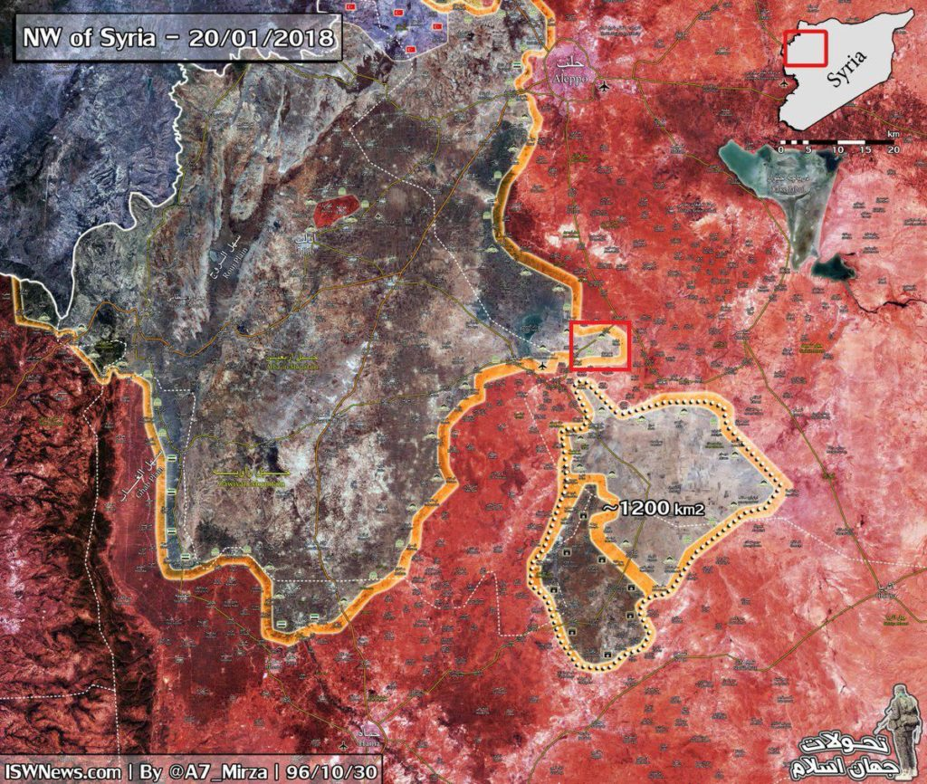 Syrian Army Expands Its Control In Southern Aleppo After Liberation Of Abu Duhur Airbase  (Map)