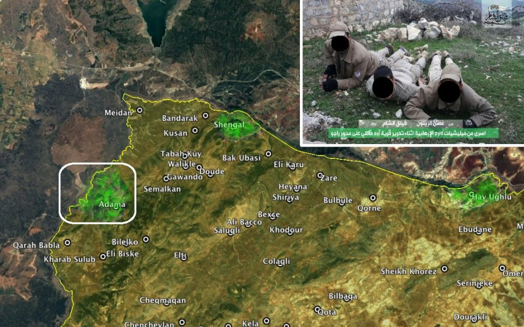 Turkey-led Forces Capture 2 Villages In Syria's Area Of Afrin (Map)