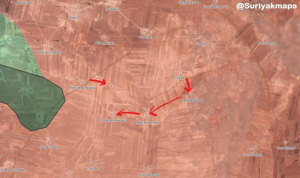 Tiger Forces Push North Of Abu al-Duhur Airbase, Enter Abu al-Duhur Town (Maps)