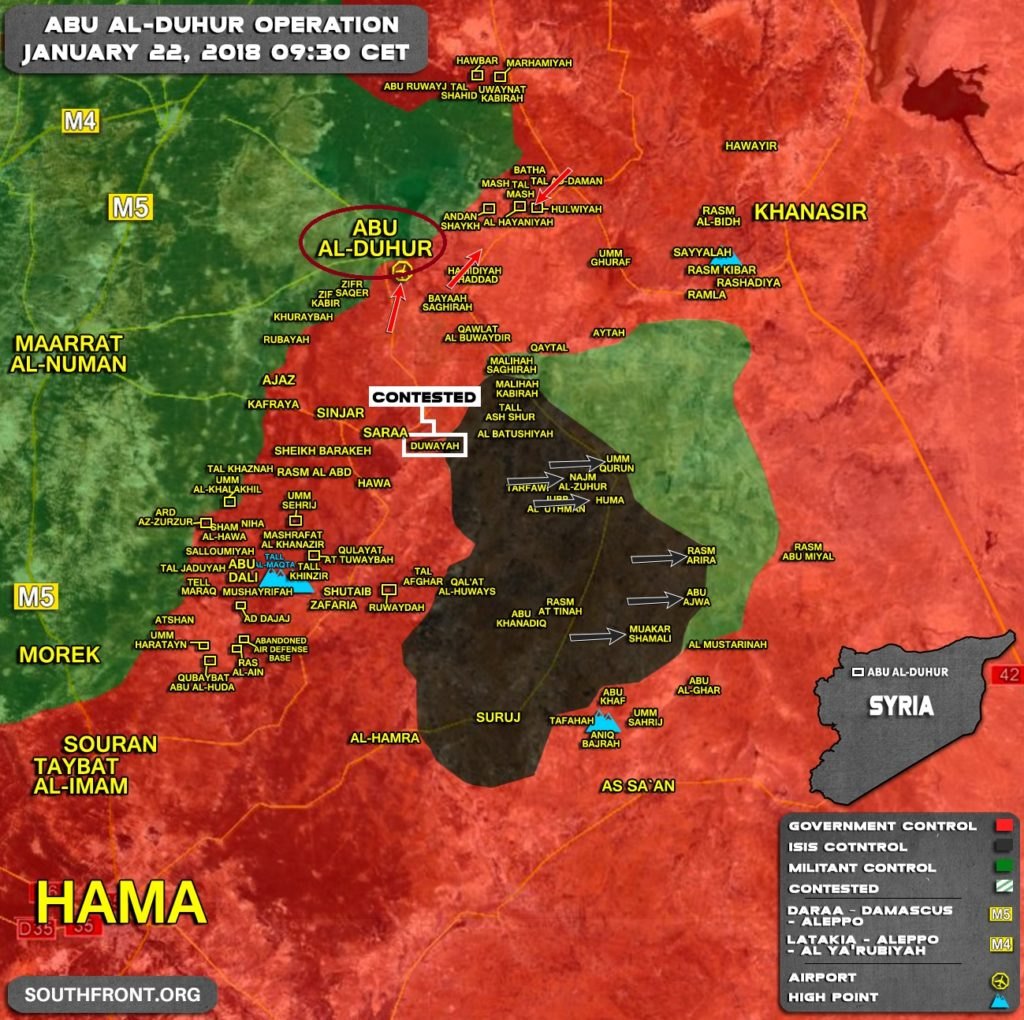 Tiger Forces Liberated Key Town Of Abu al-Duhur In Eastern Idlib - Reports