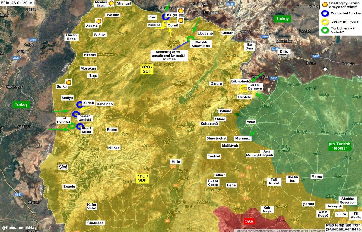 General Staff 260 Kurdish Fighters Killed Since Start Of Operation