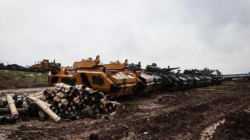 Turkish General Staff: 260 Kurdish Fighters Killed Since Start Of Operation Olive Branch