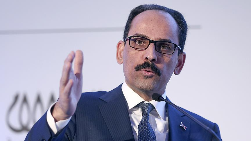 Turkish Is Ready To Discuss With US Situation In Syria If Washington Drops Support To YPG/PYD - Presidential Spokesman